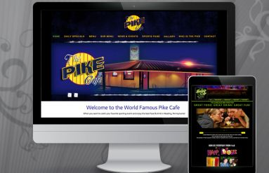 Pike Cafe & Shirley's Tequila Bar Websites