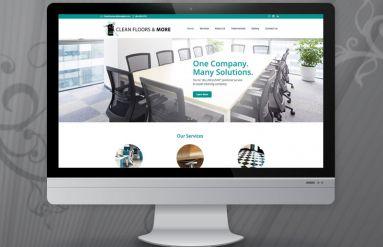 Clean Floors & More Website