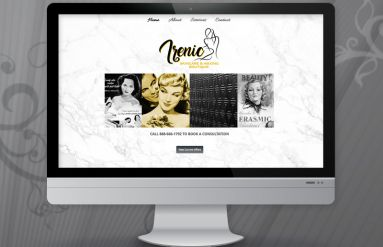 Irenic Skincare & Waxing Boutique Website