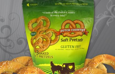 Dutch Country Pretzels Packaging