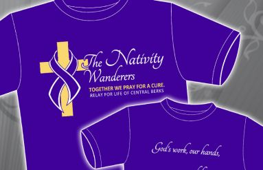 The Nativity Wanderers Team T-Shirt