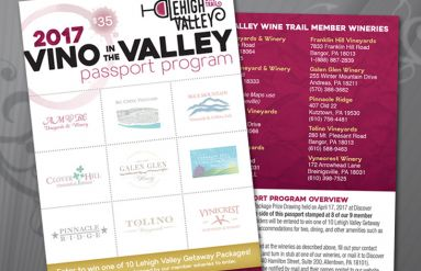 Lehigh Valley Wine Trail Vino in the Valley Passports