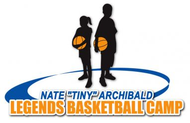 "Nate ""Tiny"" Archibald Legends Basketball Camp Logo"