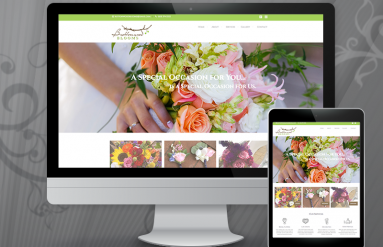 Buttonwood Blooms Events website