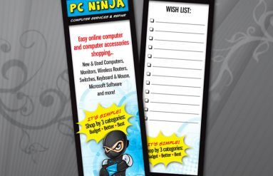 PC Ninja Bookmark