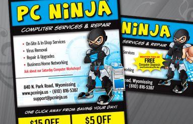 PC Ninja Local Publication Ads