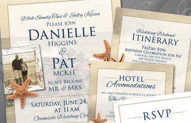 McKee Wedding Invitation Package
